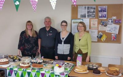 Staff take to baking for MacMillan Cancer